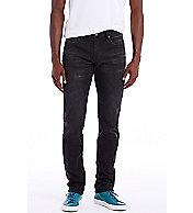 Black Wash Straight Leg Jean