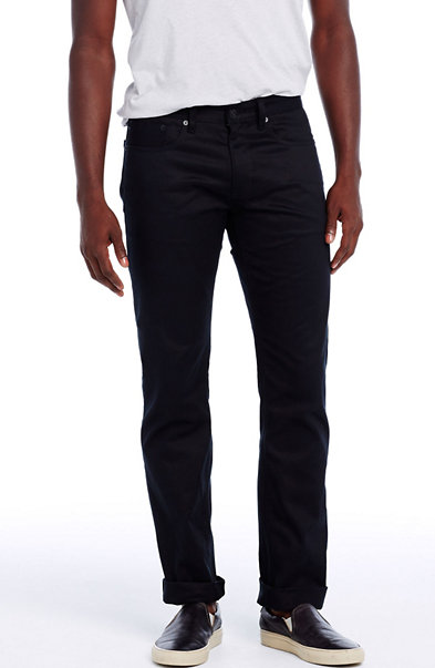 Black Selvedge Straight