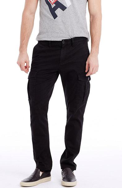 Skinny Sateen Cargo Pant