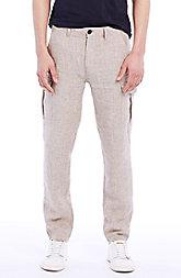 Linen Cargo Pant