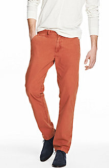 Garment Dyed Relaxed Straight Chino