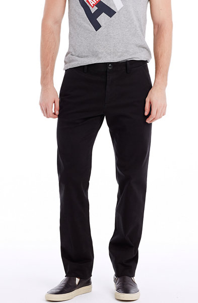 Skinny Brushed Sateen Pant