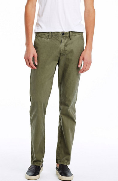 Garment Dye Straight Chino