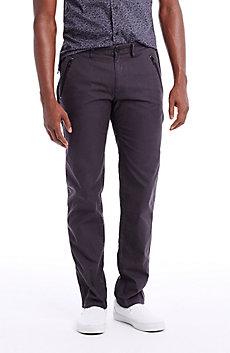 Utility Zipper Chino Pants