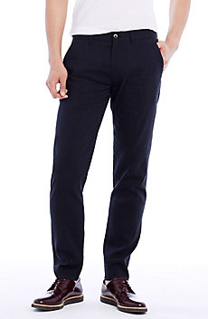 Slim Stretch Cotton Dress Pant
