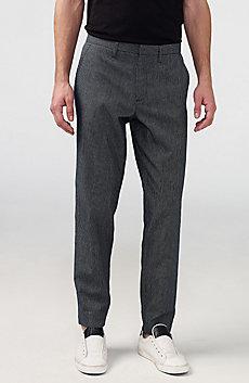 Mini Check Slim Tapered Trouser