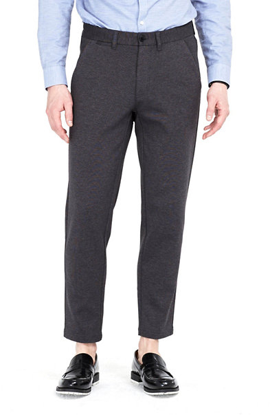 Cropped Knit Trouser
