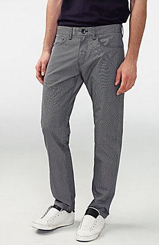 Mini Stripe Straight Pant