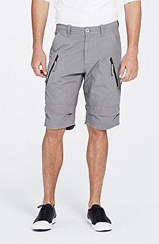 Zipper Detail Short