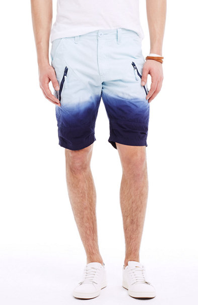Cotton Dip-Dyed Utility Short