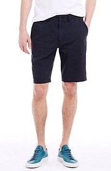 Slim Stretch Cotton Dress Short