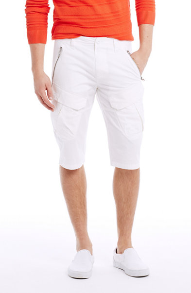 Longer Length Zip Short