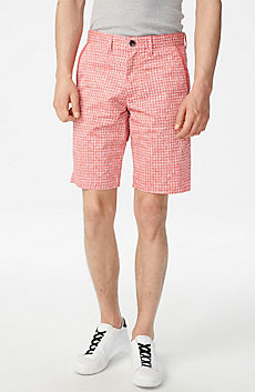 Allover Print Chino Short