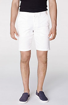 Piece-Dyed Chino Short