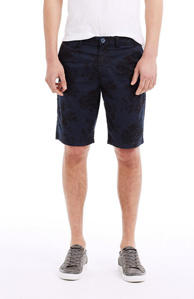 Floral Chino Short