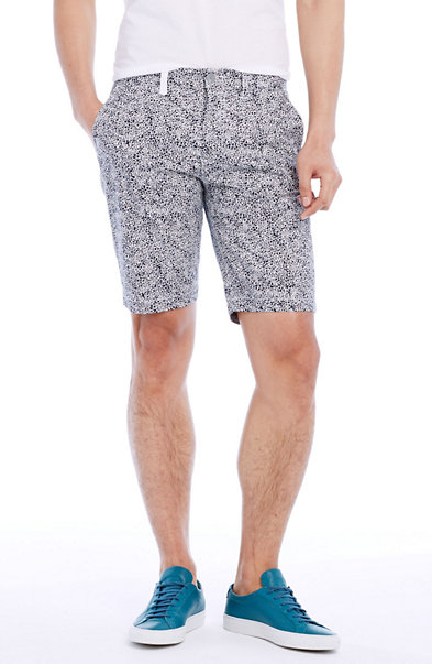 Scribble Print Chino Short
