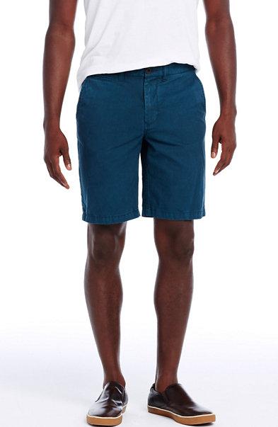 Garment Dyed Chino Short
