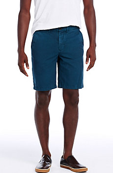 Garment Dyed Chino Short