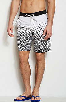 Graphic Print Swim Short