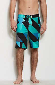 Geo Printed Swim Short