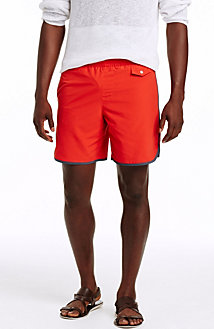 Contrast Tape Swim Short