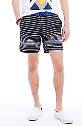 Blended Stripe Swim Short