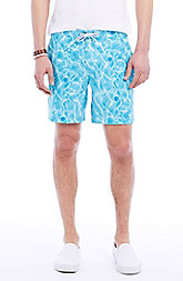 Water Print Swim Short