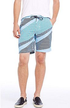 Stripe Print Swim