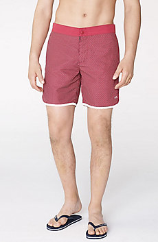 Tonal Microprint Swim Short