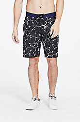 Marbled Swim Shorts