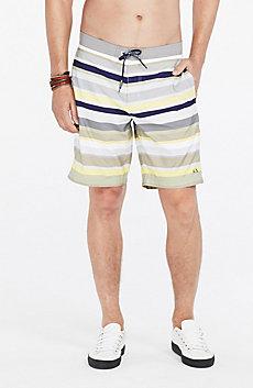 Bold Striped Swim Shorts