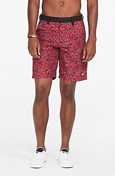Paisley Printed Swim Short