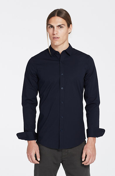 Super Slim Stretch Cotton Shirt