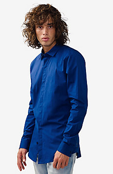 Solid Super-Slim Shirt