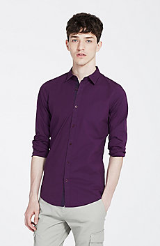 Stretch Super Slim Shirt
