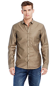 Iridescent Oxford Shirt
