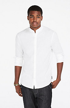 Modern Linen Blend Shirt