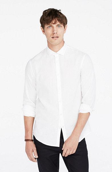 Classic Linen Blend Shirt