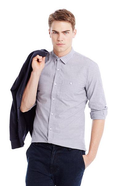 Dobby Striped Shirt