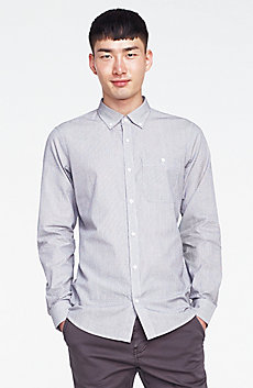 Jacquard Stripe Shirt
