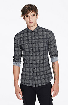 Plaid Houndstooth Shirt