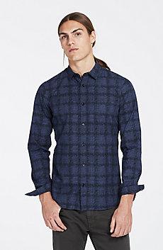 Plaid Houndstooth Shirt