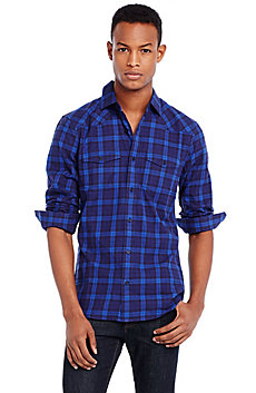 Two Scale Plaid Shirt