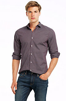 Jacquard Grid Shirt