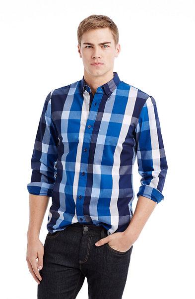 Large Scale Plaid Shirt