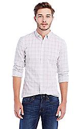 Textured Plaid Shirt