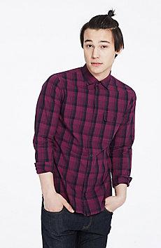 Bicolor Plaid Shirt