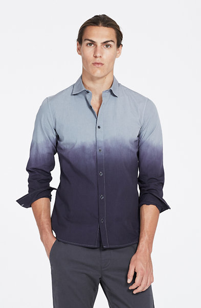 Ombre Dip-Dyed Shirt
