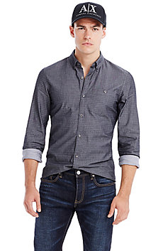 Twill Dot Shirt