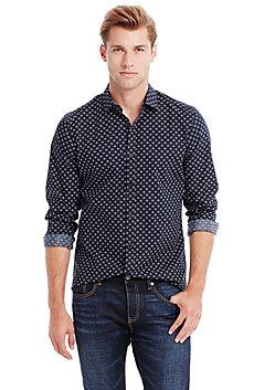Modern Dot Print Shirt